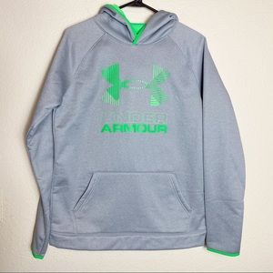 Under Armour Youth Gray Hoodie